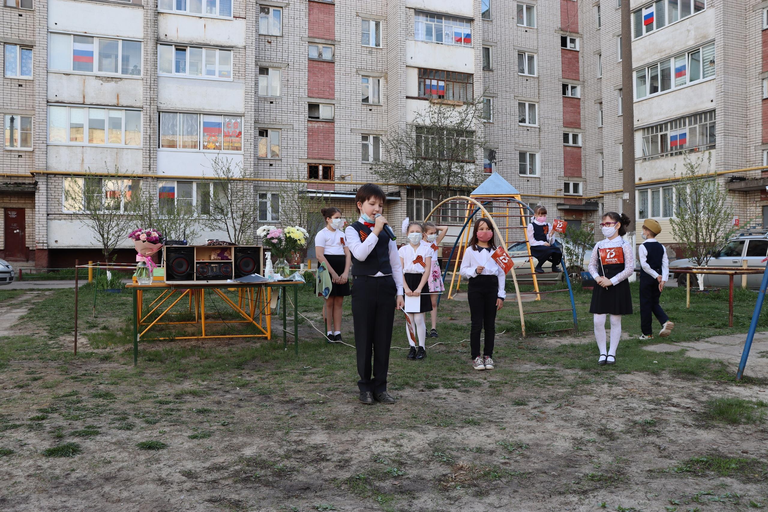 Хором всем двором: песни Победы прозвучали в каждом йошкар-олинском дворе
