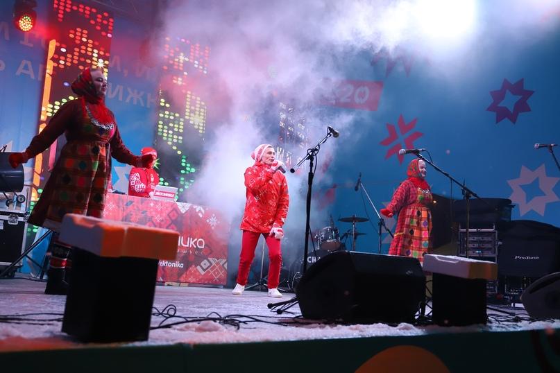 Дискотека «Эктоники» на новогоднем фестивале «Мечты — это про100!» в Ижевске