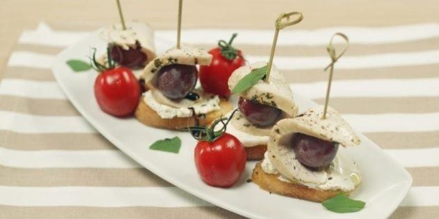12 аппетитных закусок к красному и белому вину, изображение №8
