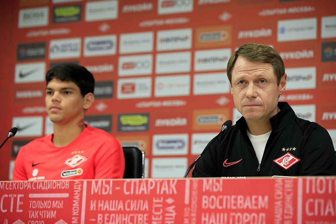 Айртон Лукас и Олег Кононов