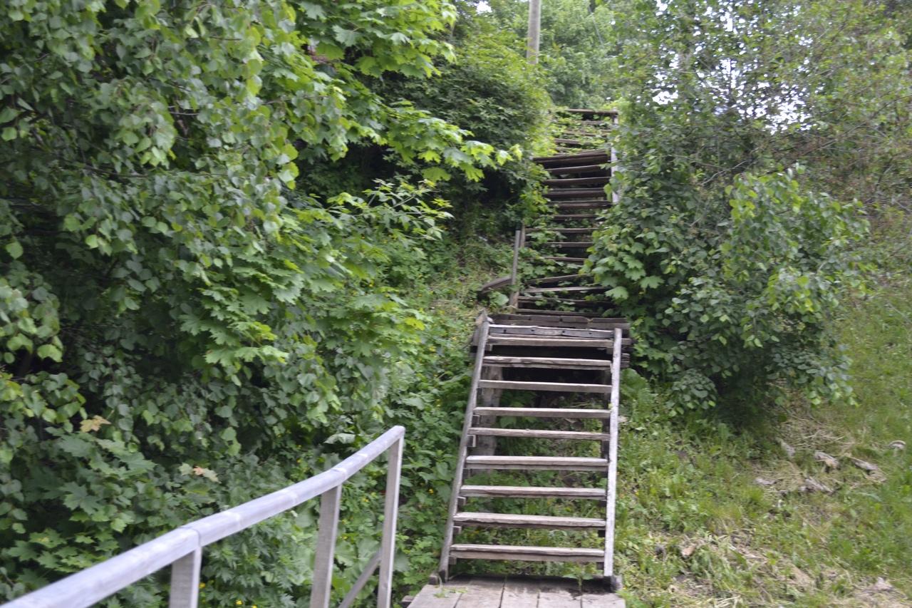 Старые деревянные лестницы получат «вторую жизнь» в Козьмодемьянске