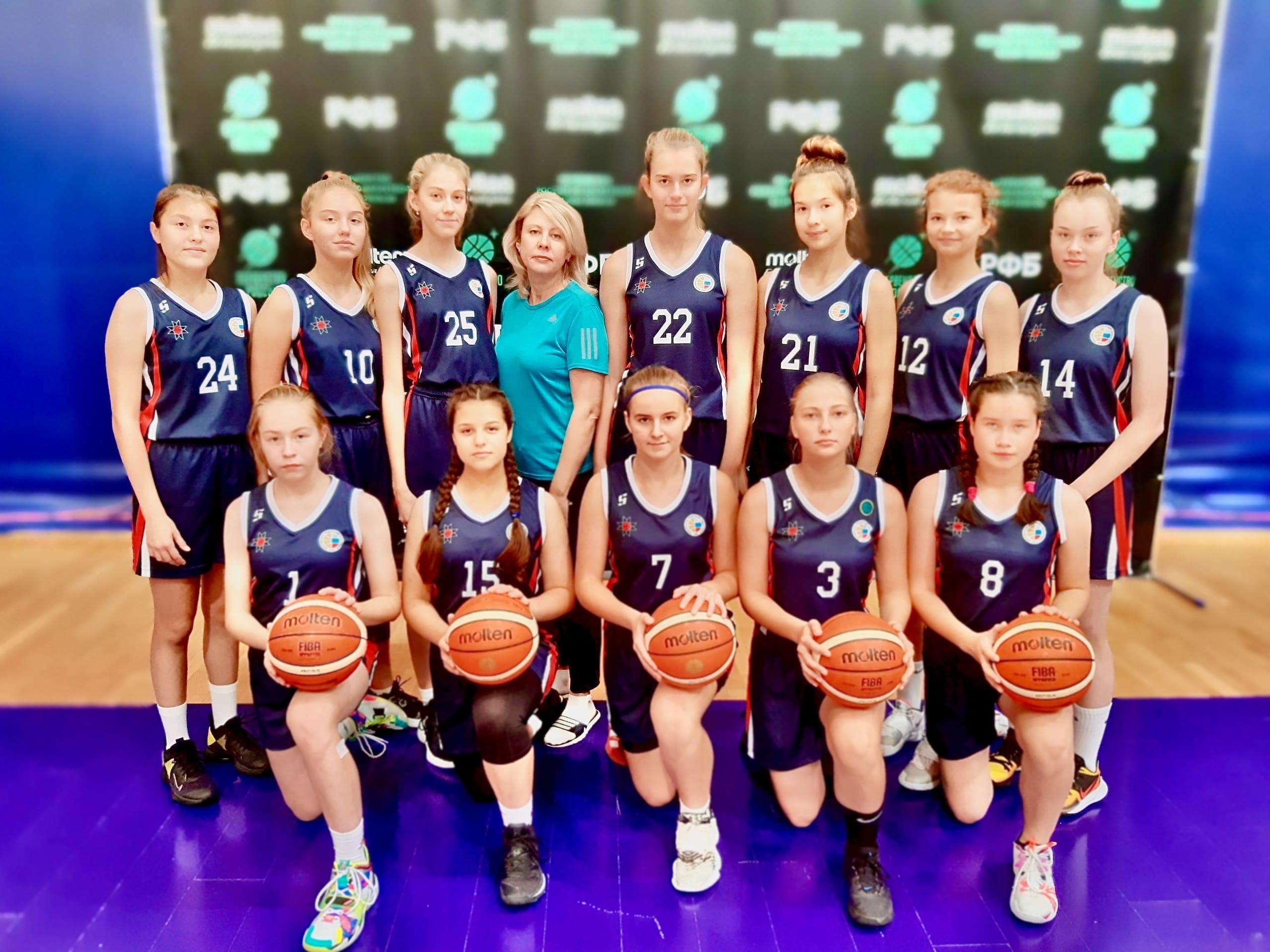 В Москве завершился Финал Первенства по баскетболу среди девушек 2006 г.р. и моложе.