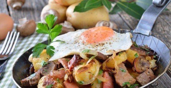 🍴ТОП-10 простейших и вкуснейших рецептов из картофеля, изображение №5