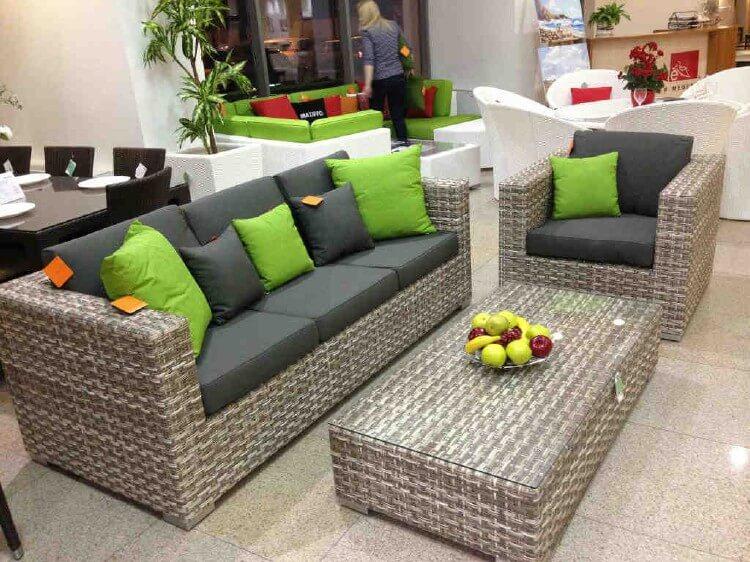 Плетеная мебель из искусственного ротанга, изображение №2
