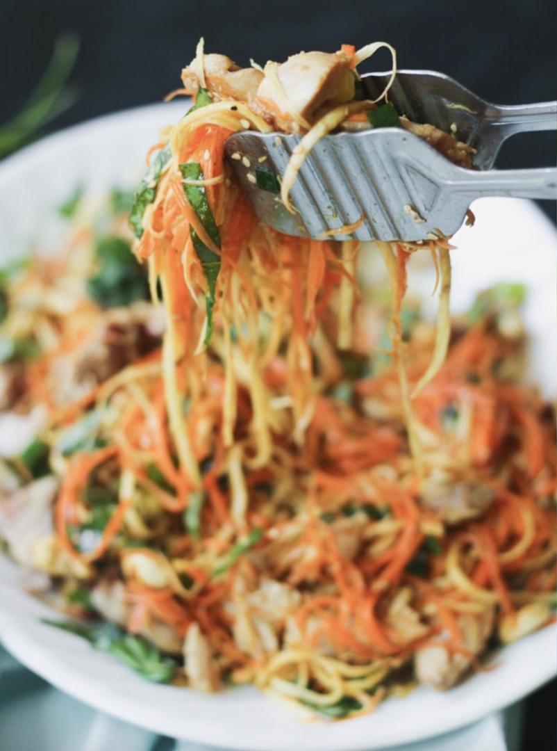 Азиатский куриный салат, изображение №2