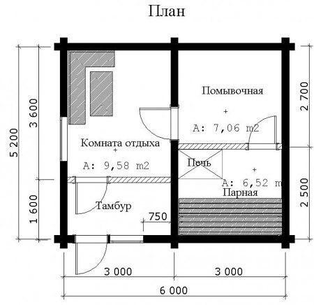 Как построить каркасную баню своими руками: пошаговая инструкция и советы., изображение №2