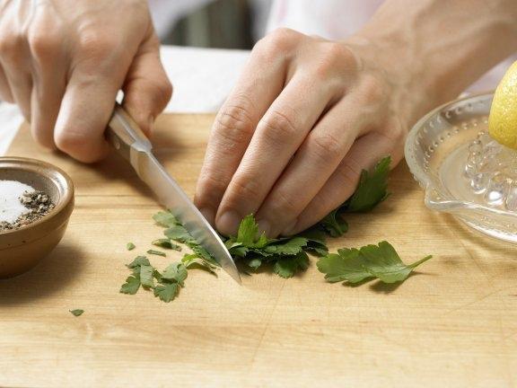 Легкий сырный суп с зеленой спаржей, изображение №5