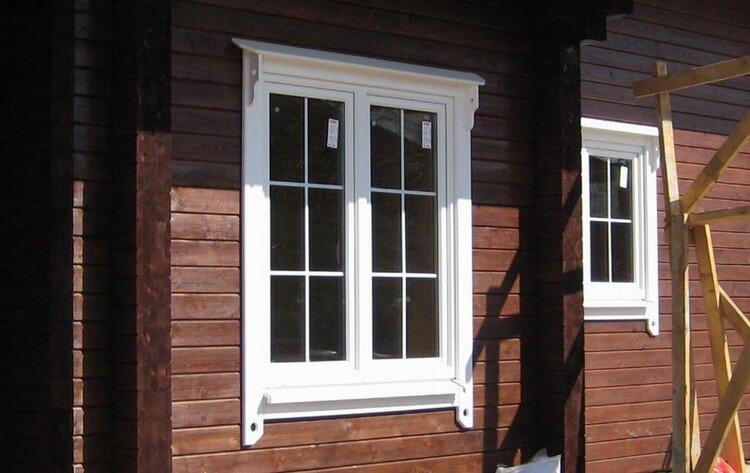 Пластиковые окна для деревянных коттеджей, изображение №4