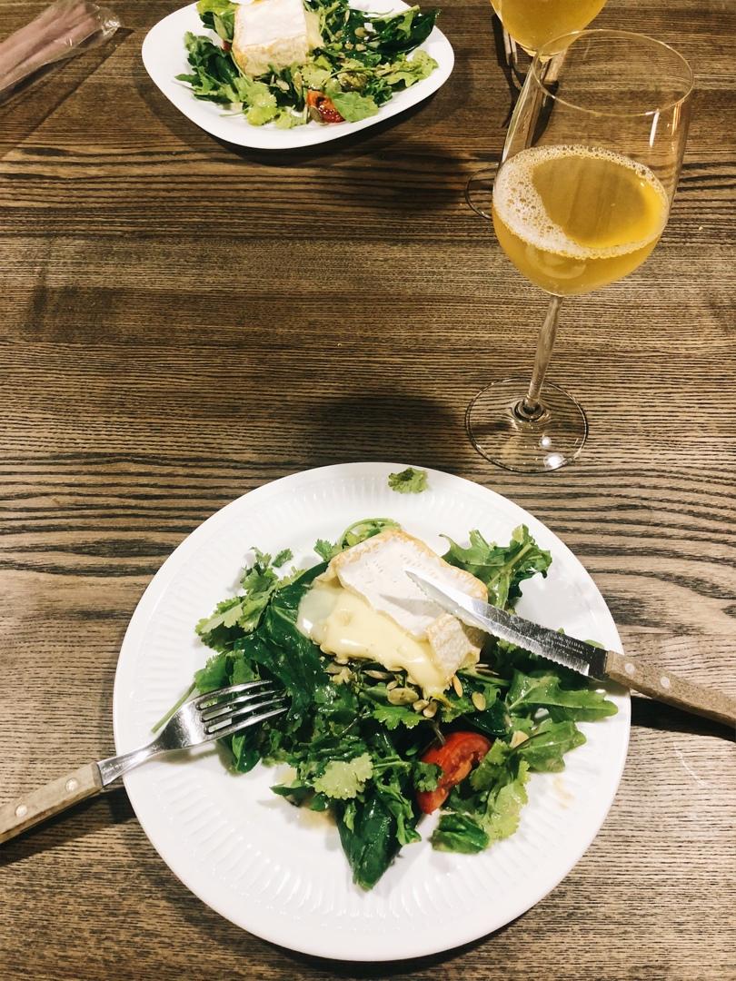 Салат с камамбером, изображение №2