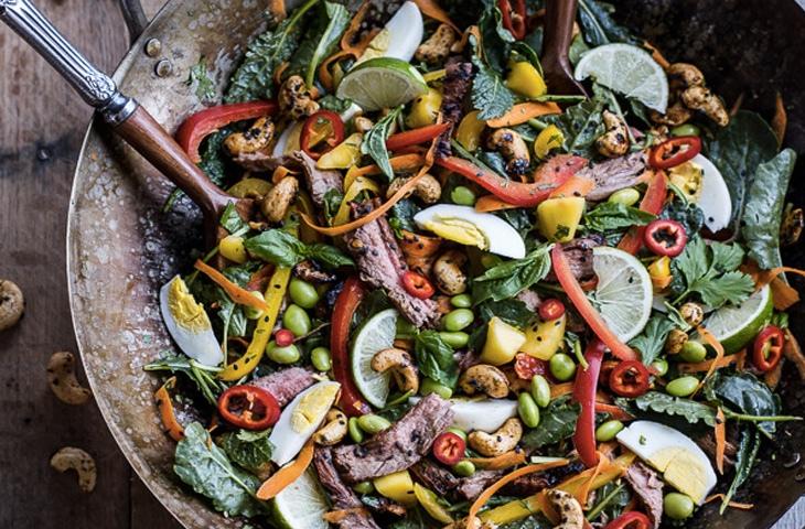 Шедевральные салаты со стейком, изображение №5