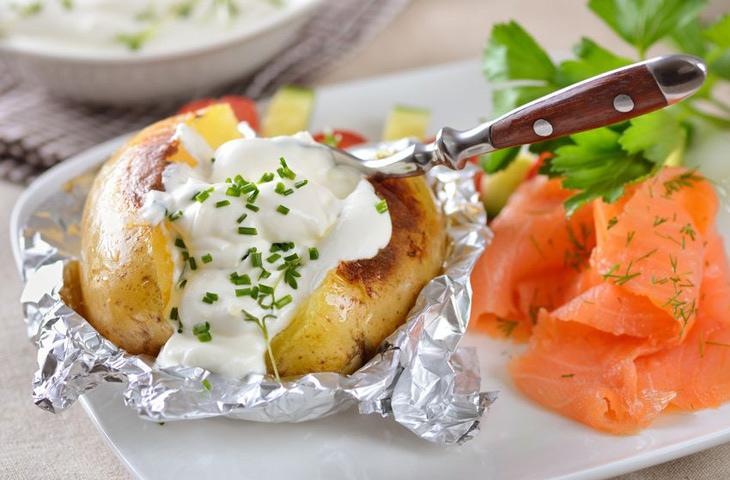 Печеный картофель на каждый день, изображение №7