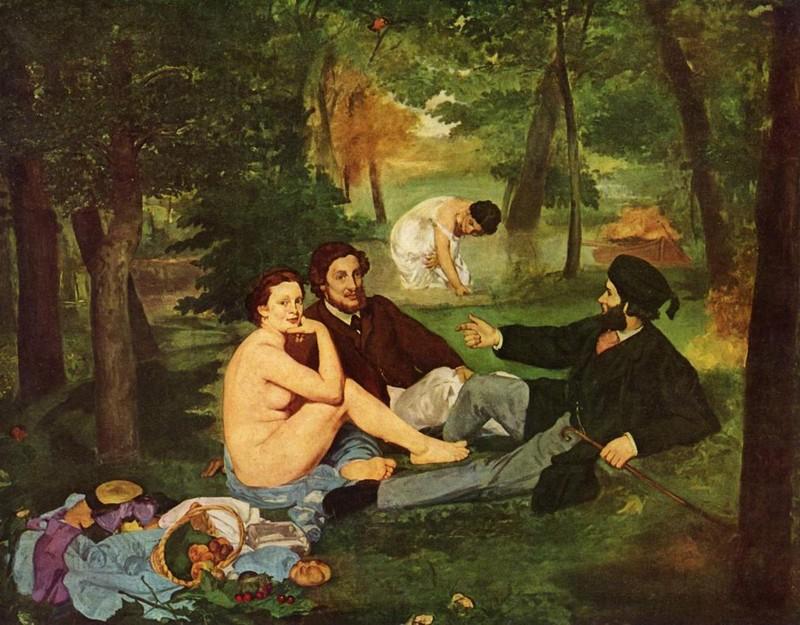 Эдуард Мане, «Завтрак на траве»