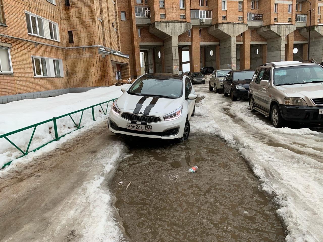 плохие дороги и лед в кирово-чепецке
